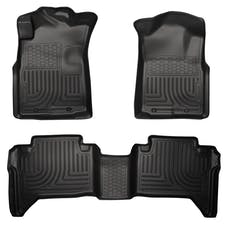 Husky Liners 98951 Weatherbeater Series Front & 2nd Seat Floor Liners (Footwell Coverage)