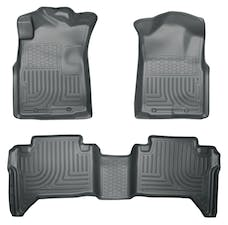 Husky Liners 98952 Weatherbeater Series Front & 2nd Seat Floor Liners (Footwell Coverage)