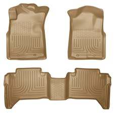 Husky Liners 98953 Weatherbeater Series Front & 2nd Seat Floor Liners (Footwell Coverage)