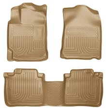 Husky Liners 98963 Weatherbeater Series Front & 2nd Seat Floor Liners