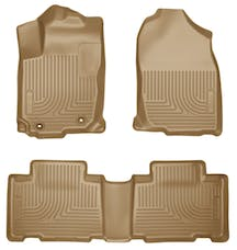 Husky Liners 98973 Weatherbeater Series Front & 2nd Seat Floor Liners