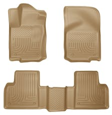 Husky Liners 98983 Weatherbeater Series Front & 2nd Seat Floor Liners