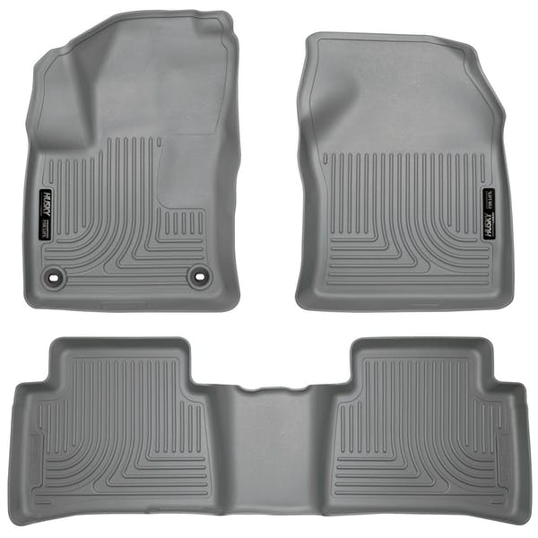 Husky Liners 98992 Weatherbeater Series Front & 2nd Seat Floor Liners