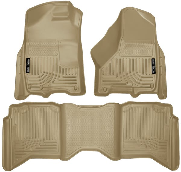 Husky Liners 99003 Weatherbeater Series Front & 2nd Seat Floor Liners