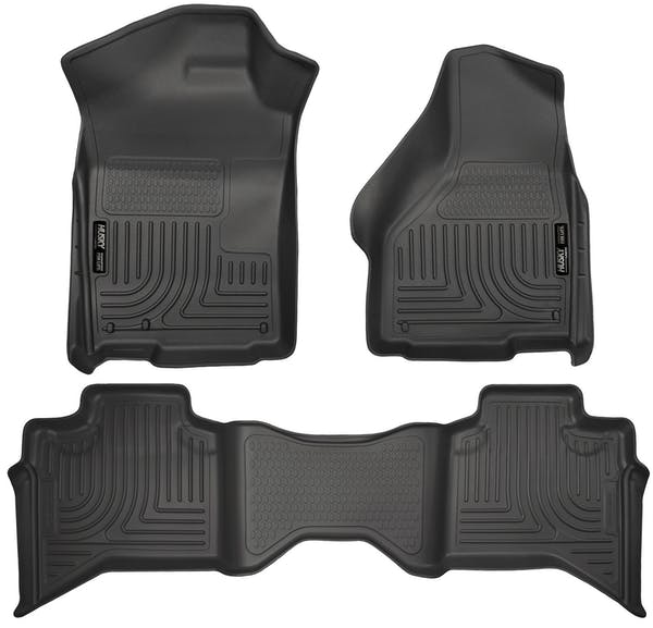 Husky Liners 99011 Weatherbeater Series Front & 2nd Seat Floor Liners