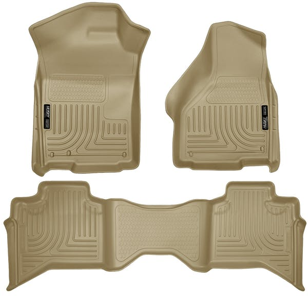 Husky Liners 99013 Weatherbeater Series Front & 2nd Seat Floor Liners