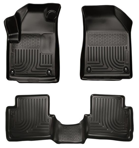 Husky Liners 99021 Weatherbeater Series Front & 2nd Seat Floor Liners
