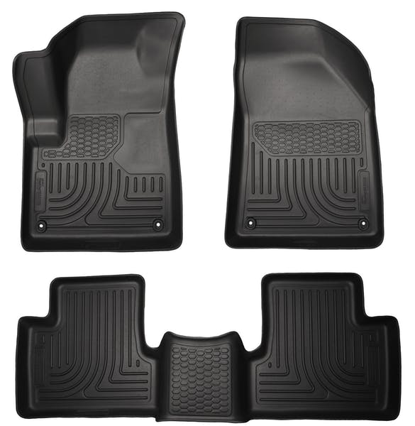 Husky Liners 99031 Weatherbeater Series Front & 2nd Seat Floor Liners