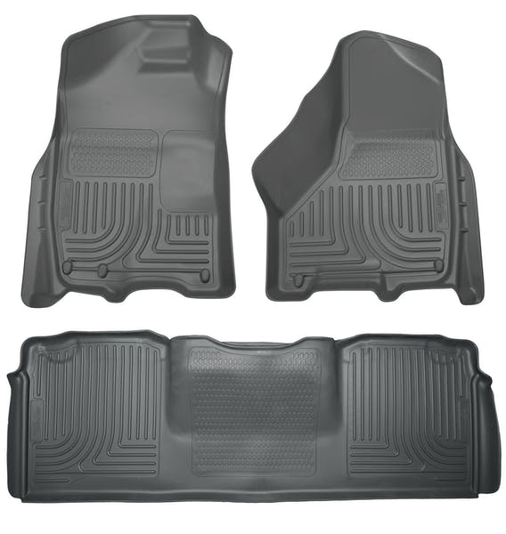 Husky Liners 99042 Weatherbeater Series Front & 2nd Seat Floor Liners