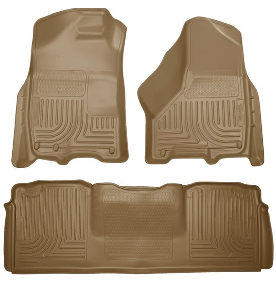 Husky Liners 99043 Weatherbeater Series Front & 2nd Seat Floor Liners