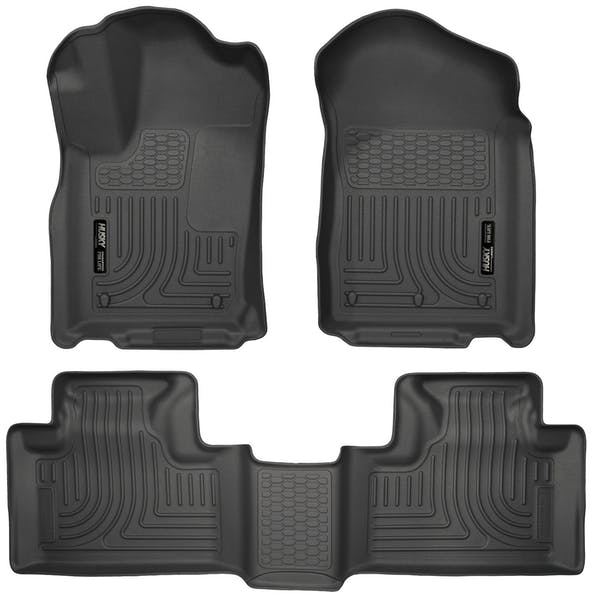 Husky Liners 99051 Weatherbeater Series Front & 2nd Seat Floor Liners