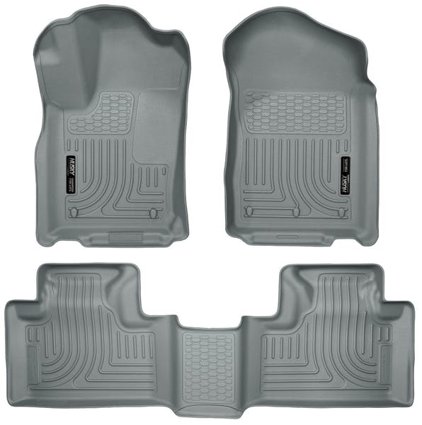 Husky Liners 99052 Weatherbeater Series Front & 2nd Seat Floor Liners