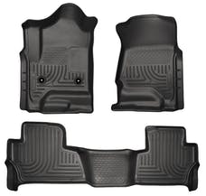 Husky Liners 99201 Weatherbeater Series Front & 2nd Seat Floor Liners