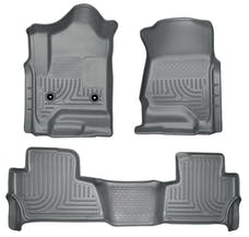 Husky Liners 99202 Weatherbeater Series Front & 2nd Seat Floor Liners