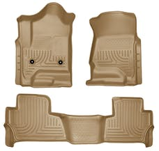 Husky Liners 99203 Weatherbeater Series Front & 2nd Seat Floor Liners