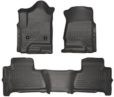 Husky Liners 99211 Weatherbeater Series Front & 2nd Seat Floor Liners