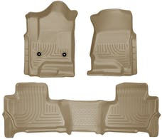 Husky Liners 99213 Weatherbeater Series Front & 2nd Seat Floor Liners