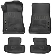 Husky Liners 99371 Weatherbeater Series Front & 2nd Seat Floor Liners