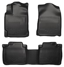Husky Liners 99551 Weatherbeater Series Front & 2nd Seat Floor Liners