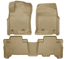Husky Liners 99573 Weatherbeater Series Front & 2nd Seat Floor Liners