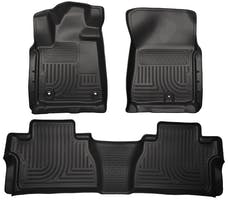 Husky Liners 99581 Weatherbeater Series Front & 2nd Seat Floor Liners (Footwell Coverage)