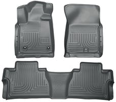 Husky Liners 99582 Weatherbeater Series Front & 2nd Seat Floor Liners (Footwell Coverage)