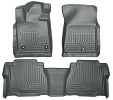 Husky Liners 99592 Weatherbeater Series Front & 2nd Seat Floor Liners (Footwell Coverage)