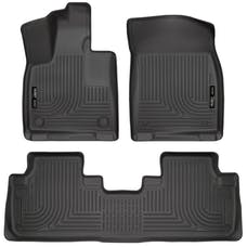 Husky Liners 99651 Weatherbeater Series Front & 2nd Seat Floor Liners