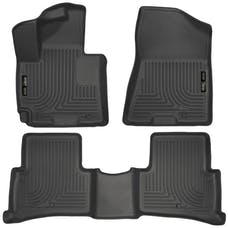 Husky Liners 99681 Weatherbeater Series Front & 2nd Seat Floor Liners