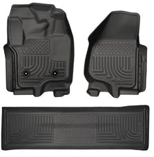 Husky Liners 99711 Weatherbeater Series Front & 2nd Seat Floor Liners (Footwell Coverage)