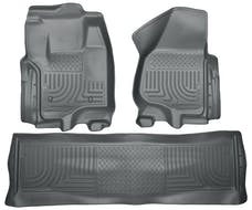 Husky Liners 99712 Weatherbeater Series Front & 2nd Seat Floor Liners (Footwell Coverage)