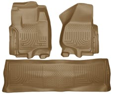 Husky Liners 99713 Weatherbeater Series Front & 2nd Seat Floor Liners (Footwell Coverage)