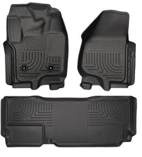Husky Liners 99721 Weatherbeater Series Front & 2nd Seat Floor Liners (Footwell Coverage)