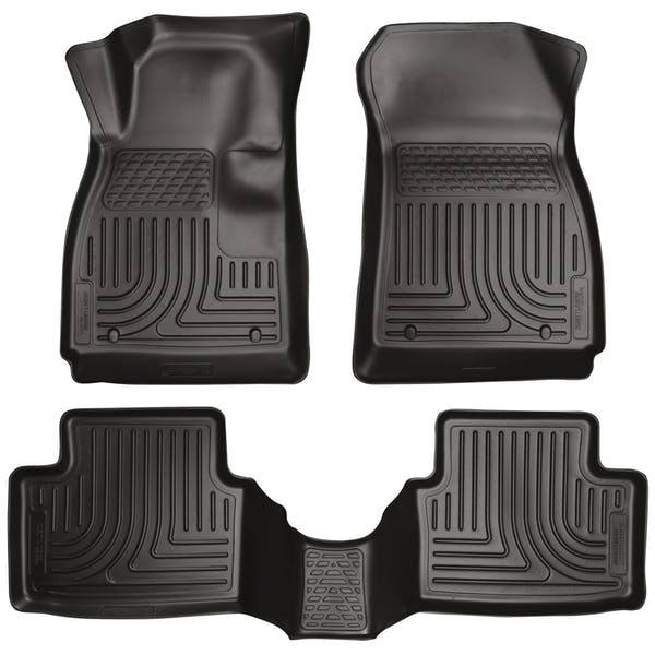 Husky Liners 99791 Weatherbeater Series Front & 2nd Seat Floor Liners