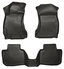 Husky Liners 99801 Weatherbeater Series Front & 2nd Seat Floor Liners