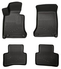 Husky Liners 99811 Weatherbeater Series Front & 2nd Seat Floor Liners