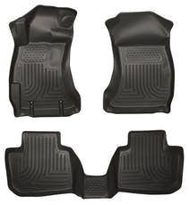 Husky Liners 99841 Weatherbeater Series Front & 2nd Seat Floor Liners