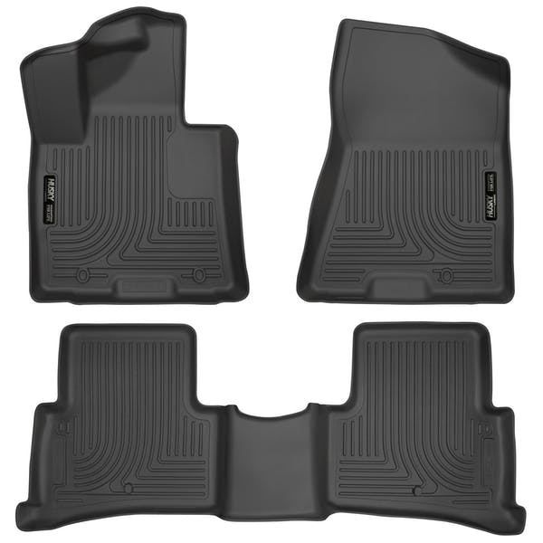 Husky Liners 99891 Weatherbeater Series Front & 2nd Seat Floor Liners