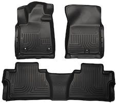 Husky Liners 99561 Weatherbeater Series Front & 2nd Seat Floor Liners (Footwell Coverage)