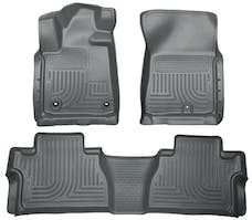Husky Liners 99562 Weatherbeater Series Front & 2nd Seat Floor Liners (Footwell Coverage)