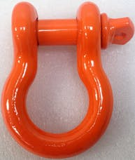 "Iron Cross Automotive 1000-06 3/4"" Shackle Orange"
