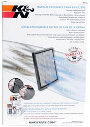 Titan Pathfinder K/&N VF1002 Washable /& Reusable Cabin Air Filter Cleans and Freshens Incoming Air for your Nissan Armada