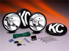 KC Hilites 155 KC Apollo Series; Long Range Light Kit