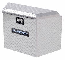 LUND 6120 Aluminum Trailer Tongue Storage Box, Brite ALUM TRAILER TONGUE