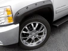LUND RX140S Rivet Style Fender Flare Set - Front and Rear, Smooth, 4-Piece Set RX-RIVET STYLE 4PC SMOOTH