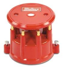 Mallory 208M Distributor Cap, Screw Down, Red