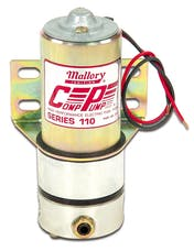 Mallory 29256 Electric EFI Fuel Pump  110gph