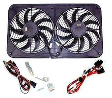 """Maradyne MJS22KC Jetstreme II Shroud Fan - Dual 12"""" 130w Fans - No Controls"""