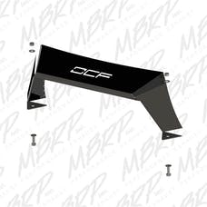 MBRP Exhaust 182766LX Formed Front Light Bar For OCF Bumpers; LineX Coated