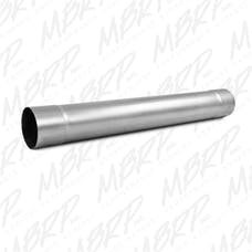 MBRP Exhaust MDA30 Muffler Delete Pipe 4in. Inlet/Outlet 30in. Overall; AL